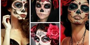 MAQUIAGEM DE CAVEIRA: Mexicana e Simples!